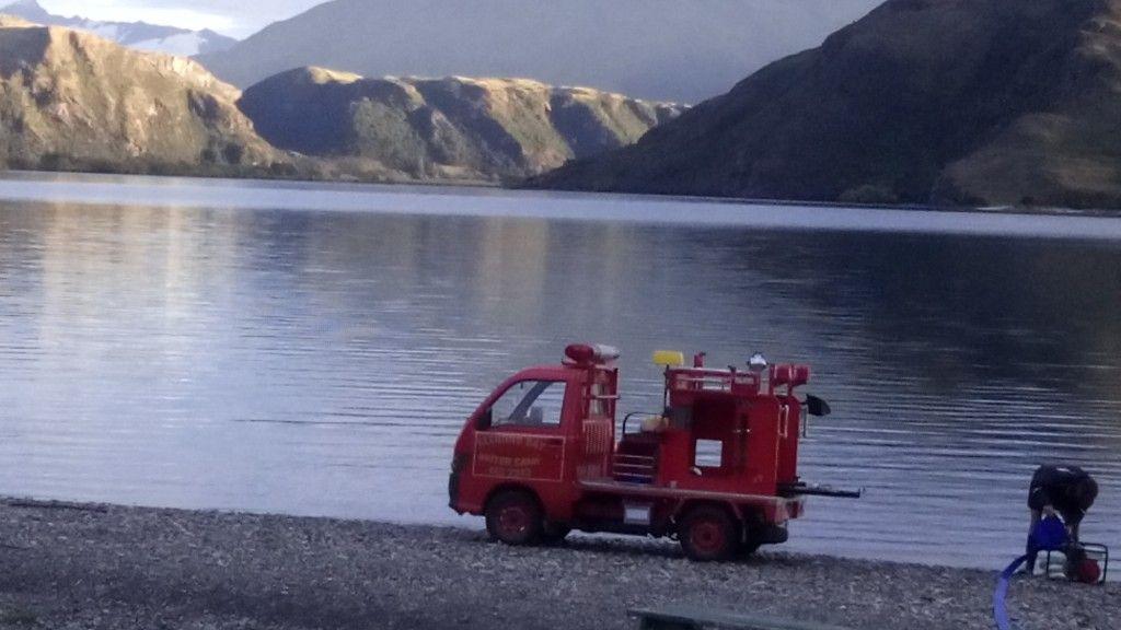 Glendhu Bay Fire Truck